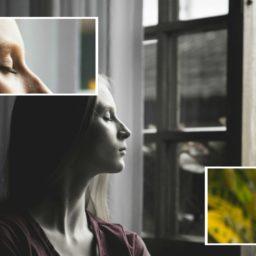 Medita en tu respiración mientras inhalas y exhalas