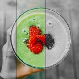 Batido verde + mascarilla de aguacate para hidratarte