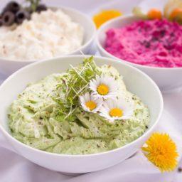 Hummus de 3 sabores para cumplir promesas